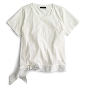 J.Crew Side Tie T-Shirt
